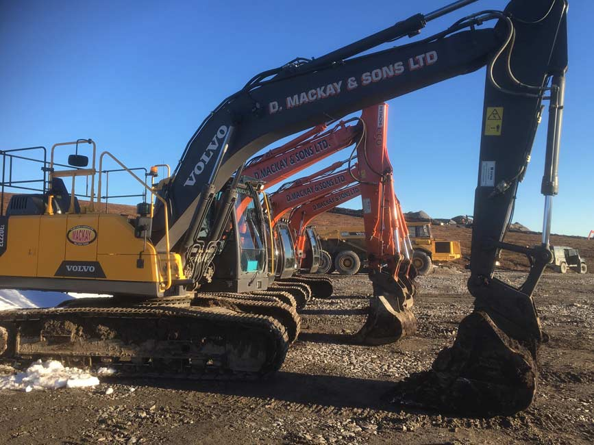 Small selection of Excavators